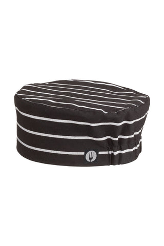 Chef Works-Chef Works  Chalkstripe Basic Beanie-One size / Chalkstripe-Uniform Wholesalers