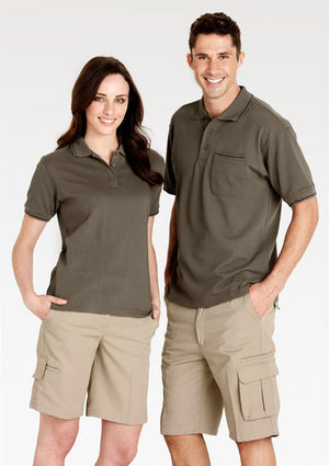 Biz Collection-Biz Collection Mens Detroit Short Stout--Uniform Wholesalers - 4