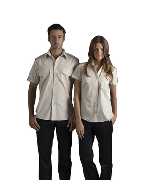 identitee-Identitee Ladies Chelsea Short Sleeve Shirt(New Style)--Uniform Wholesalers - 1