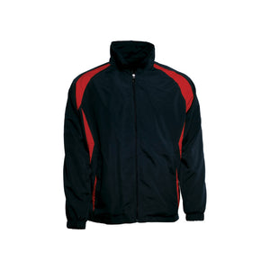 Bocini-Bocini Kids Training Track Jacket-Black/Red / 6-Uniform Wholesalers - 8