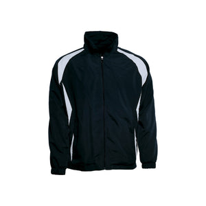Bocini-Bocini Kids Training Track Jacket-Black/White / 6-Uniform Wholesalers - 9