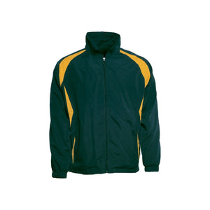 Bocini-Bocini Kids Training Track Jacket-Bottle/Gold / 6-Uniform Wholesalers - 4