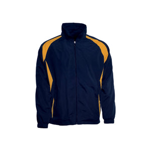Bocini-Bocini Kids Training Track Jacket-Navy/Gold / 6-Uniform Wholesalers - 5