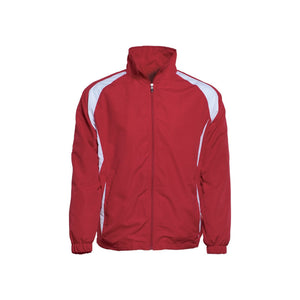 Bocini-Bocini Kids Training Track Jacket-Red/White / 6-Uniform Wholesalers - 2