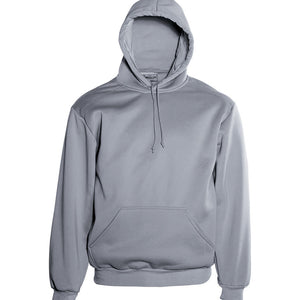 Bocini-Bocini Pull Over Hoodie 1st (10 colour)-Grey Marle / XS-Uniform Wholesalers - 3