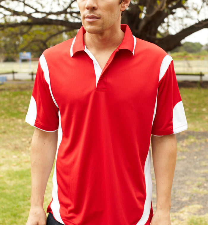 Bocini Adults Breezeway Contrast Polo (1st 12 colors)-(CP0532)