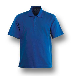 Bocini Plain Colour Poly Face Cotton Backing S/S Polo (CP1601)