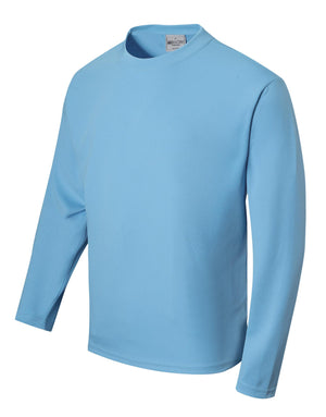 Bocini Unisex Adults Sun Smart L/S Tee Shirt 2nd (12 Color) (CT1629)