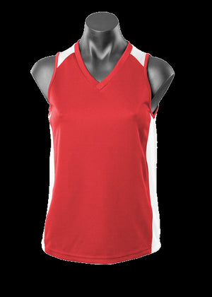 Aussie Pacific Premier Ladies Singlet 2nd ( 5 Colour ) (2101)