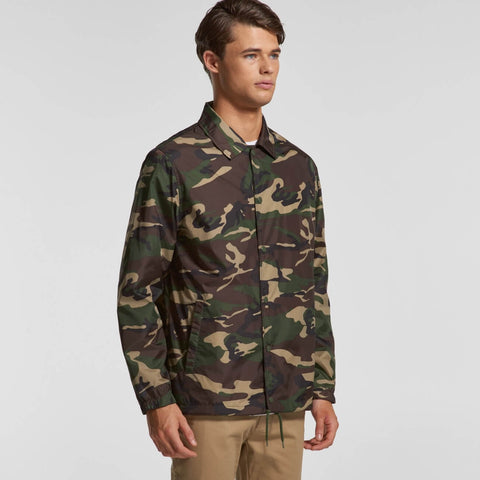 Ascolour Mens Coach Camo Jacket (5520C)