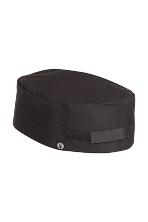 Chef Works-Chef Works Black Double Rimmed Beanie-One size / Black-Uniform Wholesalers