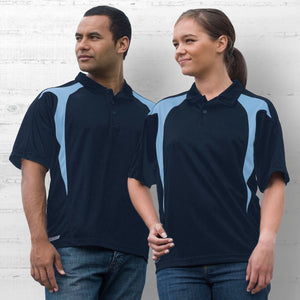 Gear For Life  Dri Gear Spliced Zenith Unisex Polo (2nd 8 Colours) (DGSP)