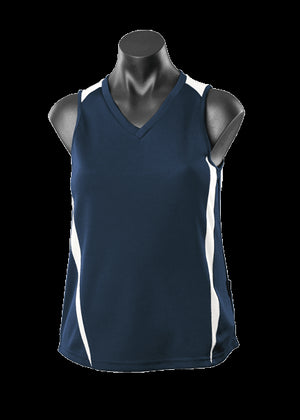 Aussie Pacific Eureka Ladies Singlets 1st (13 Colour ) (2104)