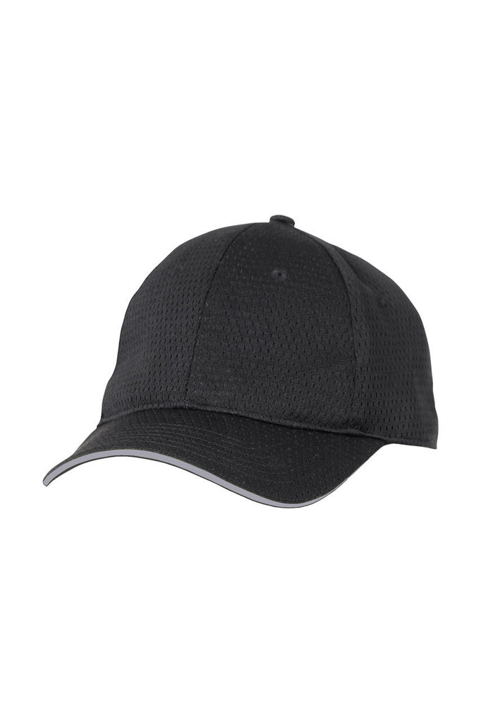 Chef Works-Chef Works Cool Vent Baseball Cap w/ Trim-One size / Grey-Uniform Wholesalers - 2