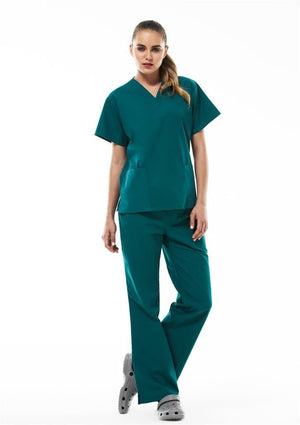 Biz Collection Ladies Classic Scrubs Bootleg Pant (H10620)-Clearance