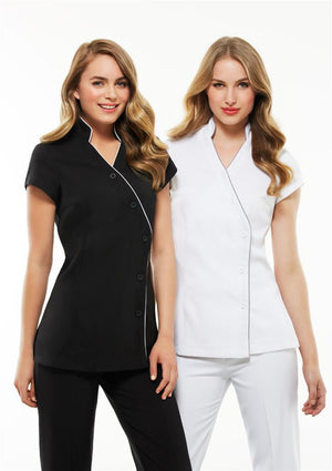 Biz Collection-Biz Collection Ladies Zen Crossover Tunic--Uniform Wholesalers - 5