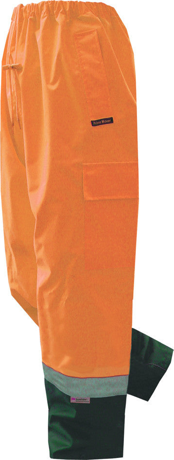 Prime Mover-Prime Mover Hi Vis Cargo Pant-Orange/Navy / S-Uniform Wholesalers - 2