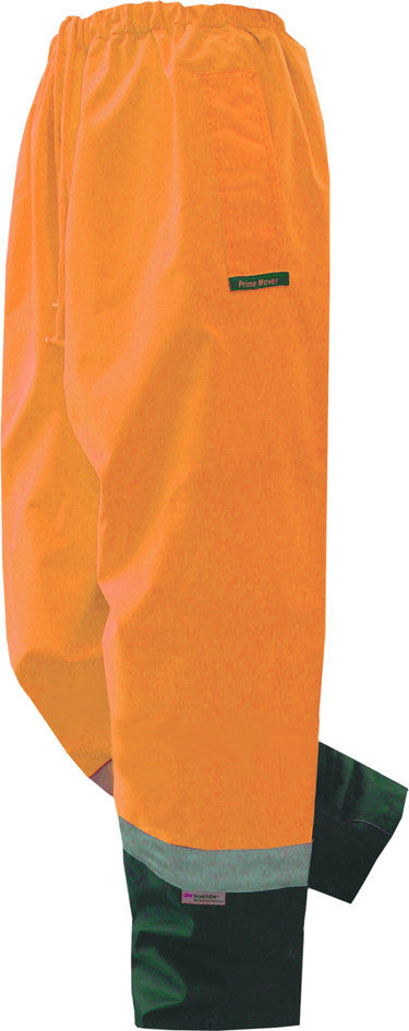 Prime Mover-Prime Mover Hi Vis  Pullon Pant-Orange/Navy / S-Uniform Wholesalers - 2