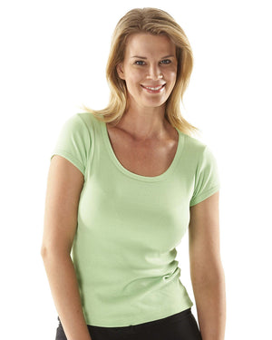 JB's Wear-JB's Ladies Scoop Neck Tee--Uniform Wholesalers - 3