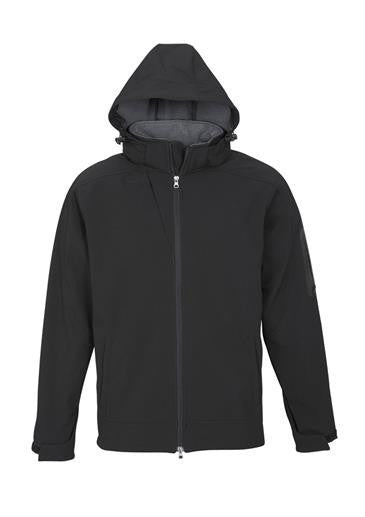 Biz Collection-Biz Collection Mens Summit Jacket-Black / Graphite / S-Uniform Wholesalers - 2