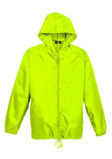Biz Collection-Biz Collection Unisex Base Jacket-Fluoro Yellow/Lime / Kids-Uniform Wholesalers - 2