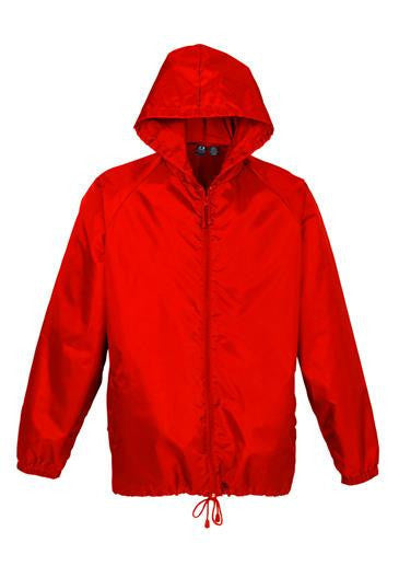 Biz Collection-Biz Collection Unisex Base Jacket-Red / Kids-Uniform Wholesalers - 5
