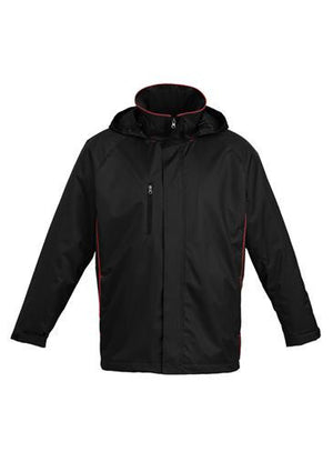 Biz Collection-Biz Collection Unisex Core Jacket-Black / Red / XXS-Uniform Wholesalers - 2
