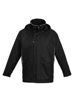 Biz Collection-Biz Collection Unisex Core Jacket-Black / White / M-Uniform Wholesalers - 1