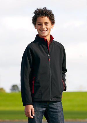 Biz Collection-Biz Collection  Kids Geneva Softshell Jacket--Uniform Wholesalers - 1