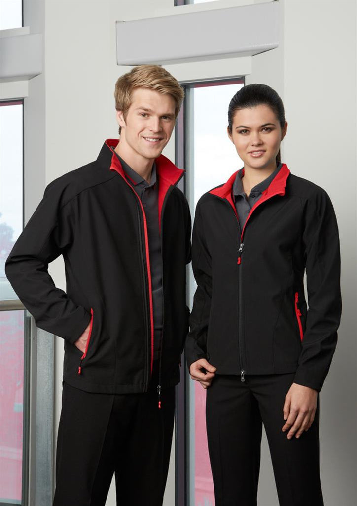 Biz Collection-Biz Collection Geneva Ladies Softshell--Uniform Wholesalers - 1