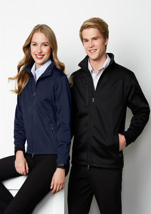 Biz Collection-Biz Collection Mens Soft Shell Jacket--Uniform Wholesalers - 1