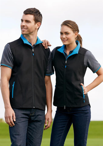 Biz Collection-Biz Collection Mens Geneva Vest--Uniform Wholesalers - 1