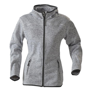 James Harvest-James Harvest Santa Ana Ladies Hoodies-8 / Grey Melange-Uniform Wholesalers - 1