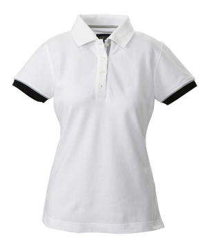 James Harvest-James Harvest Antreville Ladies Polos-6 / WHITE-Uniform Wholesalers - 1
