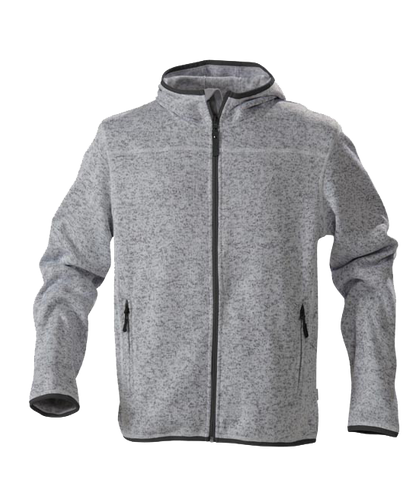 James Harvest-James Harvest Richmond Gents Hoodies-S / Grey Melange-Uniform Wholesalers - 1