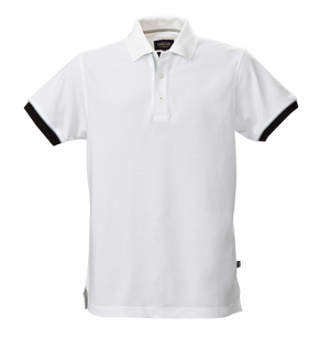 James Harvest-James Harvest Anderson Gents Polos-S / WHTE-Uniform Wholesalers - 1
