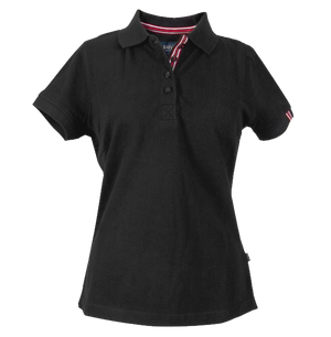 James Harvest-James Harvest Avon Ladies Polos-6 / BLACK-Uniform Wholesalers - 1