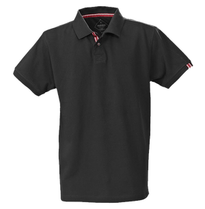 James Harvest-James Harvest Avon Gents Polos-S / BLACK-Uniform Wholesalers - 1