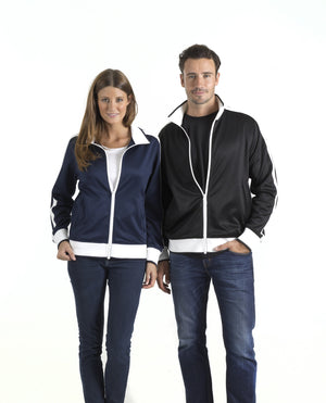 identitee-identitee Ladies Jet - Track Top with Contrast Panel & Piping--Uniform Wholesalers - 1