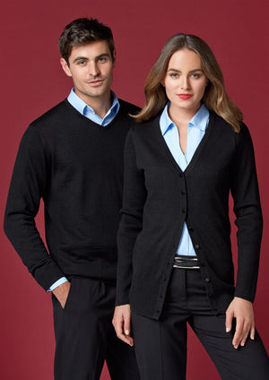 Biz Collection-Biz Collection Mens Milano Pullover--Uniform Wholesalers - 1