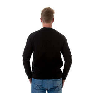 CB Clothing Mens Brushed Crew Neck Jumper (M11)