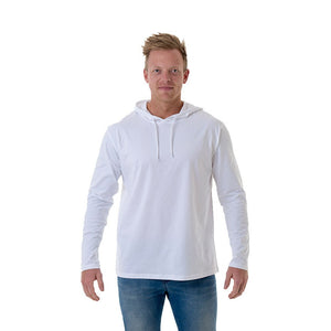 CB Clothing Men's Long Sleeve Tee Hoodie (M13)