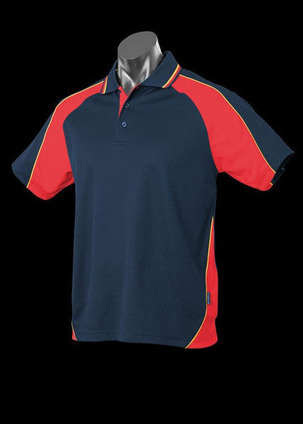 Aussie Pacific-Aussie Pacific Kid's Panorama Polo-Navy/Red/Gold / 4-Uniform Wholesalers - 11
