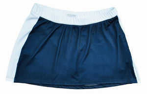 Bocini-Bocini Ladies Tennis Skirt-8 / Navy/White-Uniform Wholesalers - 1