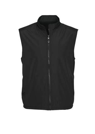 Biz Collection-Biz Collection Unises Reversible Vest-Black / XS-Uniform Wholesalers - 3