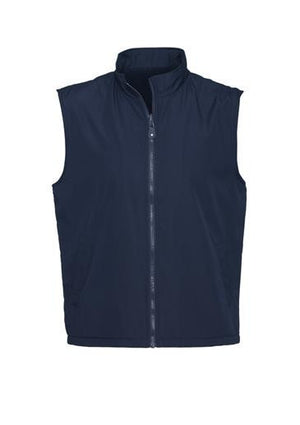 Biz Collection-Biz Collection Unises Reversible Vest-Navy / XS-Uniform Wholesalers - 2