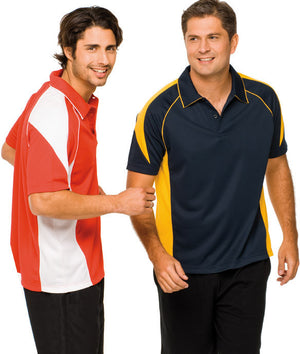 Australian Spirit-Aus Spirt Olympikool Mens Polo 2nd ( 8 Colour )-Royal blue / White / S-Uniform Wholesalers - 1