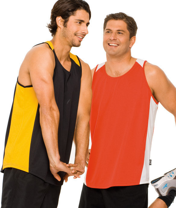 Australian Spirit-Aus Spirt Olympikool Mens Singlets 2nd ( 8 Colour )--Uniform Wholesalers - 1