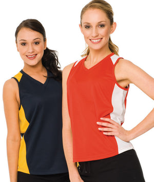 Australian Spirit-Aus Spirt Olympikool Ladies Singlet 2nd ( 9 Colour )--Uniform Wholesalers - 1