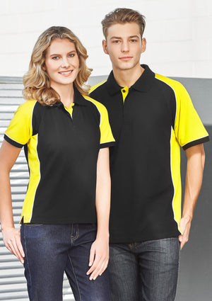 Biz Collection-Biz Collection Mens Nitro Polo--Uniform Wholesalers - 1